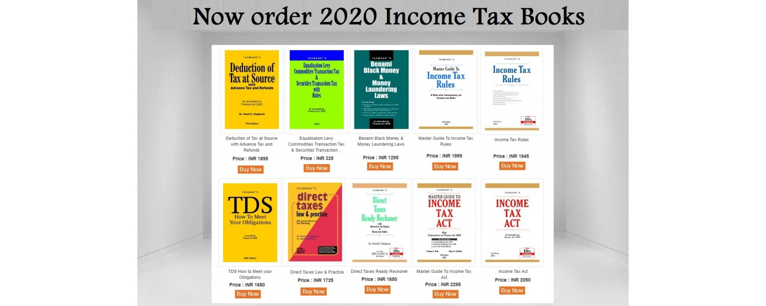 Taxmann Publications 2020