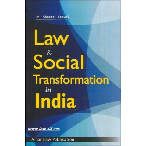 Amar Law Publication's Law and Social Transformation in India for LL.M by Sheetal Kanwal