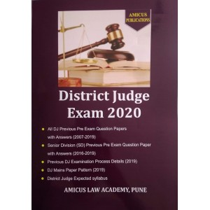 Amicus Publication's District Judge Exam 2020 Guide (DJ)