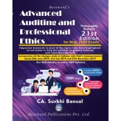 Bestword's Advanced Auditing and Professional Ethics for CA Final May 2020 Exam by CA Surbhi Bansal [Old & New Syllabus]