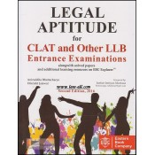 Eastern Book Company's Legal Aptitude for CLAT & LL.B Entrance Exams by Aniruddha Bhattacharya & Utkarsh Jaiswal