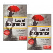 J.V.N. Jaiswal's Law of Insurance with CD [HB 2 Vols] by Sumeet Malik, Eastern Book Company