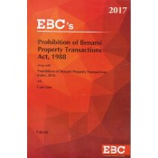 EBC's Bare Act on Prohibition of Benami Property Transactions Act, 1988