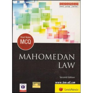 LexisNexis- Catapult Short Notes & MCQ's on Mahomedan Law by Showick Thorpe