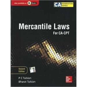 McGraw Hill's Mercantile Laws for CA-CPT by Dr. P. C. Tulsian & Bharat Tulsian