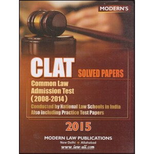 Modern Law Publication's CLAT Solved Papers by N. A. Zuberi