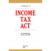 Taxmann's Income Tax Act as Amended by Finance Act, 2020 | IT Act 1961