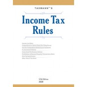 Taxmann's Income Tax Rules 2020