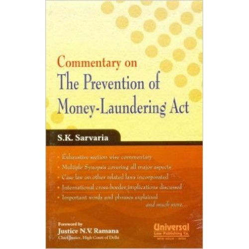 Universal's Commentary on Prevention of Money Laundering Act by S. K. Sarvaria