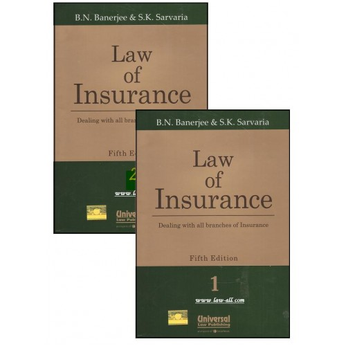 Universal's Law of Insurance [2 Vols.HB] by B. N. Banerjee & S. K. Sarvaria