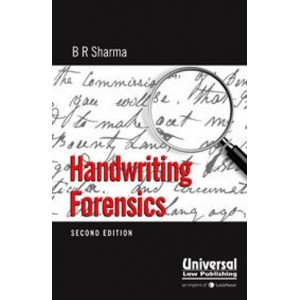 Universal's Handwriting Forensics by B. R. Sharma [HB]