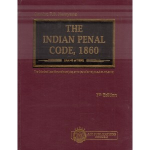 ALT Publication's The Indian Penal Code, 1860 [IPC-HB] by Justice P. S. Narayana