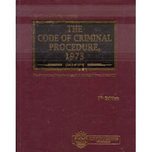 ALT Publication's The Code of Criminal Procedure 1973 (Cr.P.C. - HB) by Justice P. S. Narayana