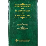 ALT Publication's Supreme Court On Leading Cases In Criminal Law By Nageshwara Rao