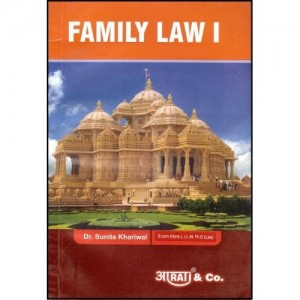 Aarti & Co's Family Law - I For BSL & LL.B by Sunita Khariwal, Sajan G. Patil