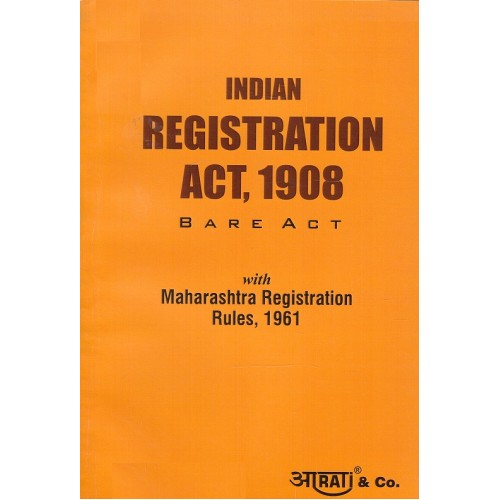 Aarti & Co.'s Indian Registration Act, 1908 Bare Act