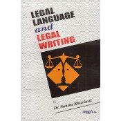 Aarti & Company's Legal Language and Legal Writing by Dr. Sunita Khariwal
