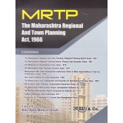 Aarti & Company's MRTP : The Maharashtra Regional and Town Planning Act, 1966 by Adv. Aarti Bhavin Shah