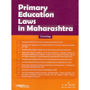 Aarti & Company's Primary Education Laws in Maharashtra by Adv. A. M. Shah