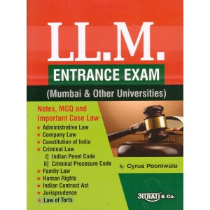 Aarti & Company's LL.M Entrance Exam 2019 (Mumbai & Other Universities) by Cyrus Pooniwala
