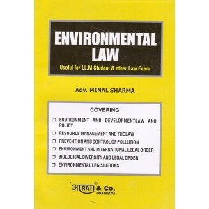 Aarti & Co.'s Environmental Law for LL.M by Adv. Minal Sharma