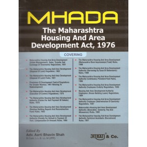 Aarti & Company's The Maharashtra Housing and Area Development Act, 1976 [MHADA] by Adv. Aarti Bhavin Shah