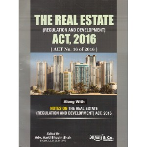 Aarti & Company's The Real Estate (Regulation and Development) Act 2016 by Adv. Aarti Shah | RERA 2016