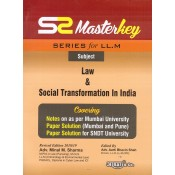 Aarti & Company's Master Key on Law & Social Transformation In India for LL.M by Adv. Minal M. Sharma, Adv. Aarti Bhavin Shah