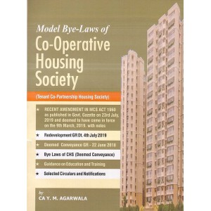 Aarti & Company's Model Bye-Laws of Co-Operative Housing Society By CA. Y. M. Agarwala