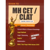 Aarti & Co.'s Guide to MH-CET / CLAT (LLB / BLS / BBA-LLB) Entrance Exam 2020 | MH-CET Law 2020 by Cyrus J. Pooniwala