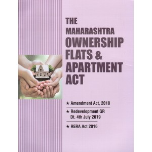 Aarti & Company's The Maharashtra Ownership Flats & Apartment Act by A. M. Shah