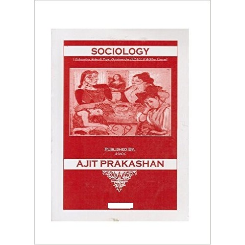 Ajit Prakashan's Sociology Notes for BSL - I Sem - II