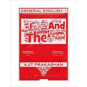 Ajit Prakashan's Notes on General English - I  for BSL - I Sem - I by Ms. Poonam Walimbe