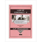 Ajit Prakashan's Law of Contract - II Notes for BSL & LLB