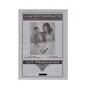 Ajit Prakashan's Law of Contracts Notes For LL.M Sem - III by Dr. K. M. Bawge