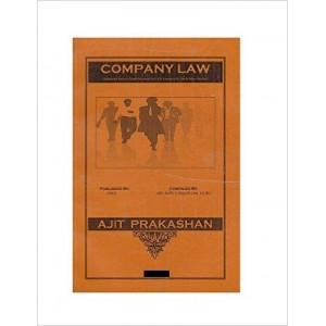 Ajit Prakashan's Company Law Notes For LL.M Sem - III by Adv. Sudhir J. Birje