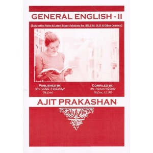 Ajit Prakashan's Notes on General English - II for BSL - I Sem - II by Ms. Poonam Walimbe