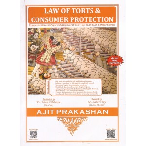 Ajit Prakashan's Law of Torts & Consumer Protection for BA.LL.B | LL.B Students [New Syllabus] by Adv. Sudhir J. Birje