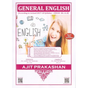 Ajit Prakashan's General English for BA. LL.B [New Syllabus] by Mr. Amol A. Rahatekar