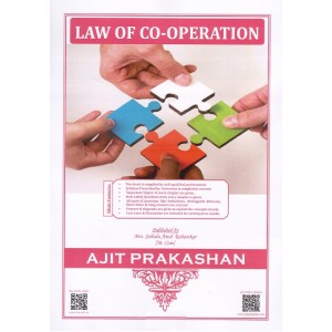 Ajit Prakashan's Law of Co-operation Notes for BSL & LL.B by Late. Adv. D. A. Sahastrabudhe