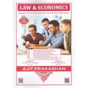 Ajit Prakashan's Law & Economics for BA.LL.B [New Syllabus] by Mr. Amol A. Rahatekar | Free Delivery