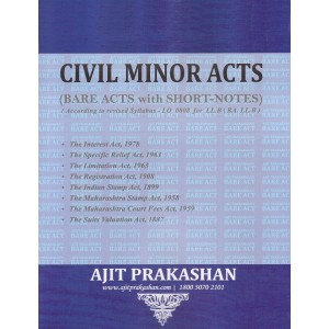 Civil Minor Acts (Bare Acts)