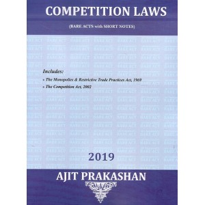 Ajit Prakashan's Competition Laws (Bare Acts with Short Notes) for LL.B | BA. LL.B [New Syllabus]