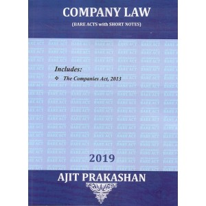 Ajit Prakashan's Company Law (Bare Acts with Short Notes) for BA.LL.B & LL.B [New Syllabus]