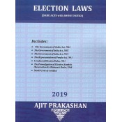 Ajit Prakashan's Election Laws (Bare Acts with Short Notes) for BA.LL.B & LL.B [New Syllabus]