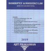 Ajit Prakashan's Bankruptcy & Insolvency Law (Bare Acts with Short Notes) for BA. LL.B & LL.B [New Syllabus]
