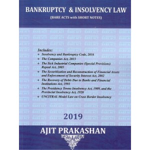 Bankruptcy & Insolvency Law (Bare Acts with Short Notes)