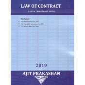 Ajit Prakashan's Law of Contract (Bare Acts with Short Notes)