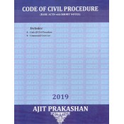Ajit Prakashan's Code of Civil Procedure including Commercial Courts Act (CPC: Bare Acts with Short Notes)