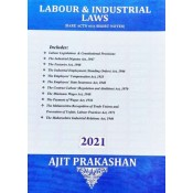 Ajit Prakashan's Labour & Industrial Laws (Bare Acts with Notes)